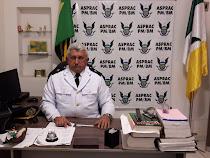 2° Ten. Nascimento Presidente da Asprac