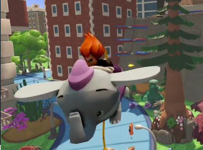 Disney Infinity video game Dumbo Syndrome flying new