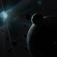 Abstract Space iPad and iPad 2 Wallpapers