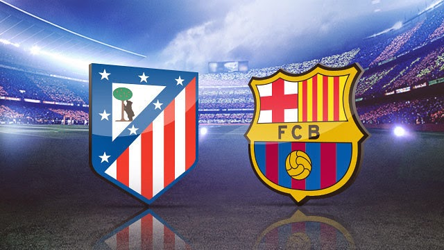 Hasil Pertandingan Leg 2 Atletico Madrid vs Barcelona 10 April 2014
