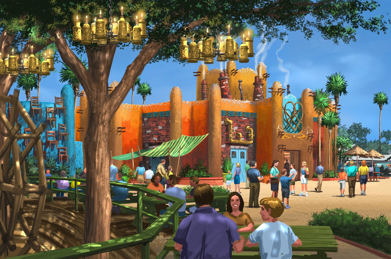 Newsplusnotes New Themed Area Announced At Busch Gardens