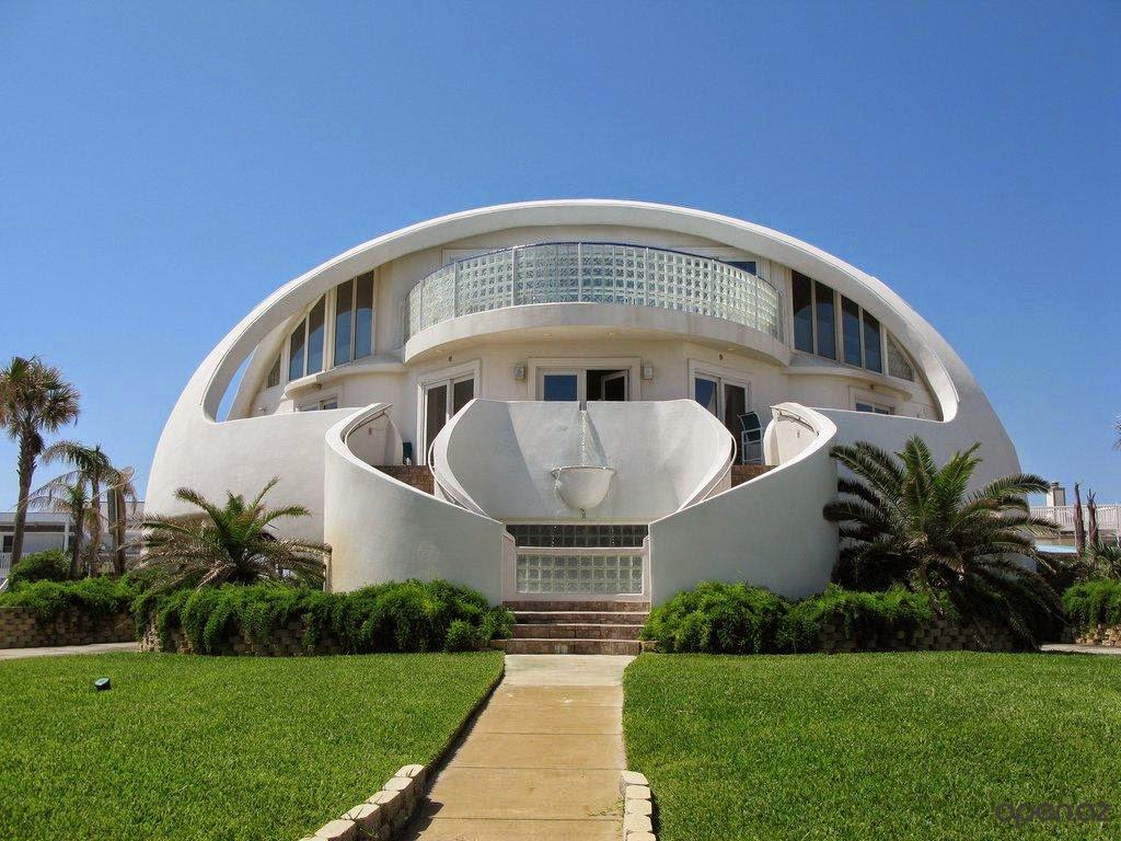 Arquitectura de Casas: Casa domo en Pensacola Beach Florida.