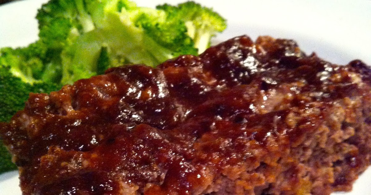taylor made: meatloaf with a spicy ketchup glaze