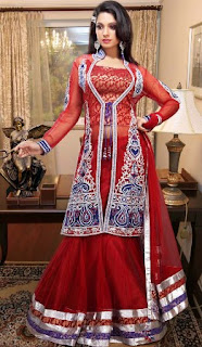 Party-Wear-Lehenga-Style