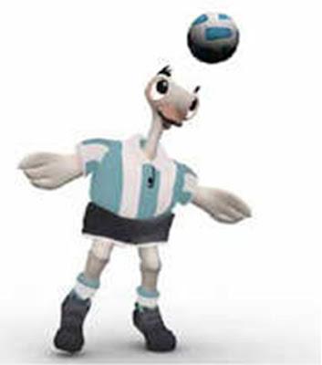 ñandu es la mascota copa de america 2011