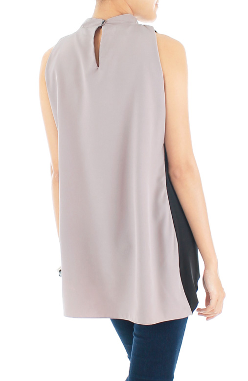 Charter Cross Over Top – Light Mauve