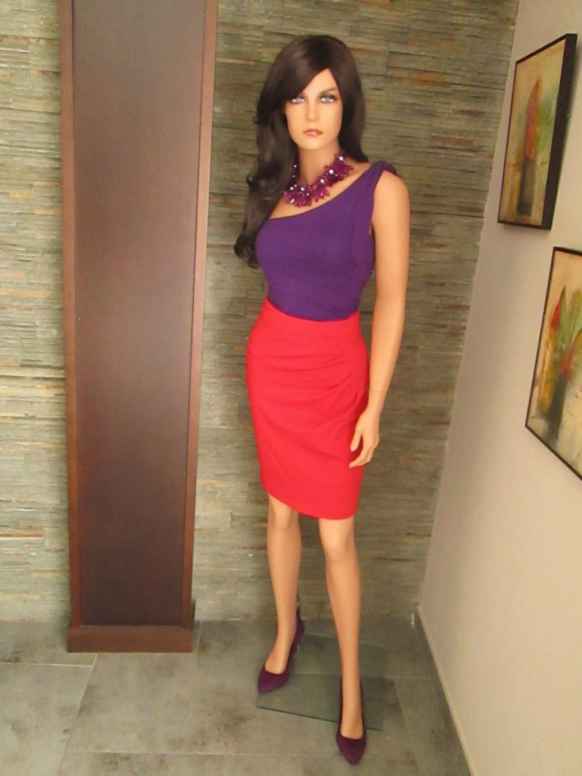 Los collares de candela c mo combinar un collar morado - Que colores combinan con el lila ...