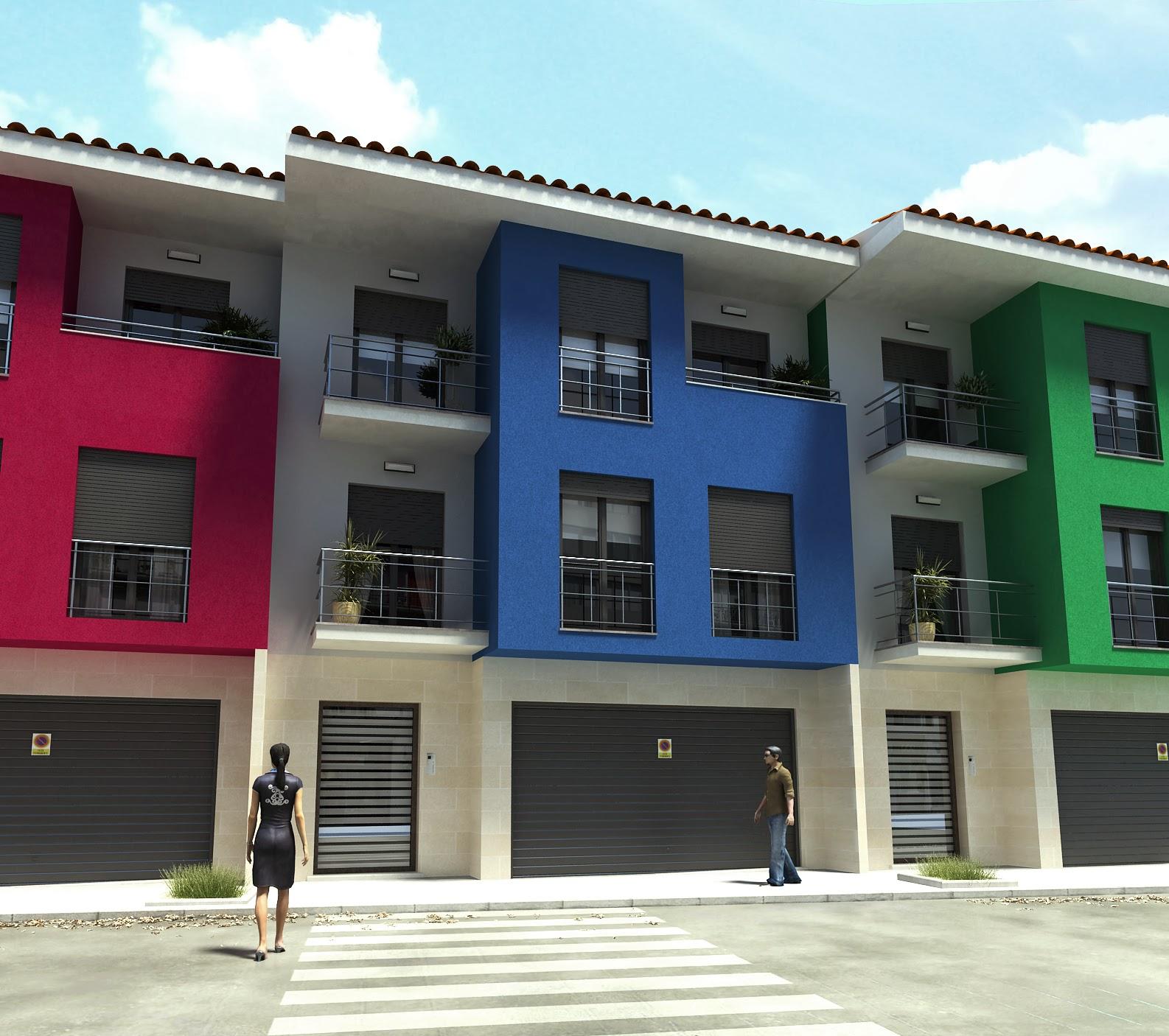Estudio de arquitectura francisco javier delgado bloque for Local arquitectura
