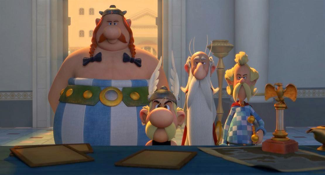 Astérix: La residencia de los dioses (Astérix: Le domaine des dieux)