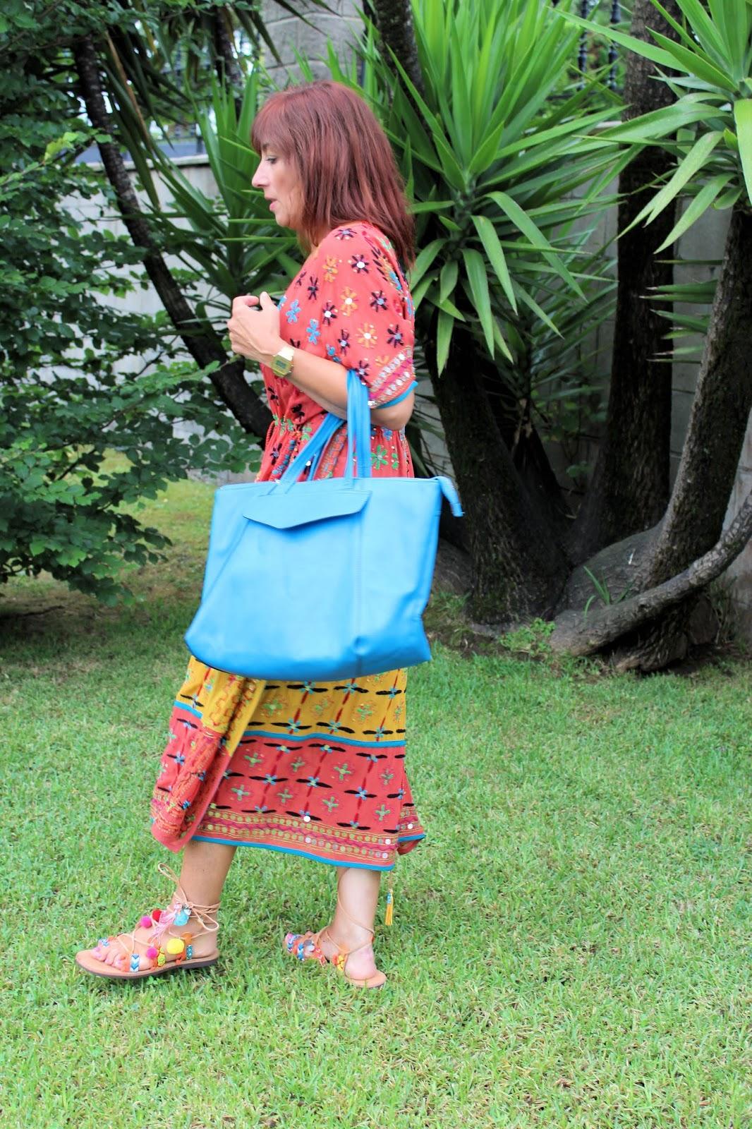Br jula de estilo mis looks vestido tipo kaftan con - Brujula de estilo ...