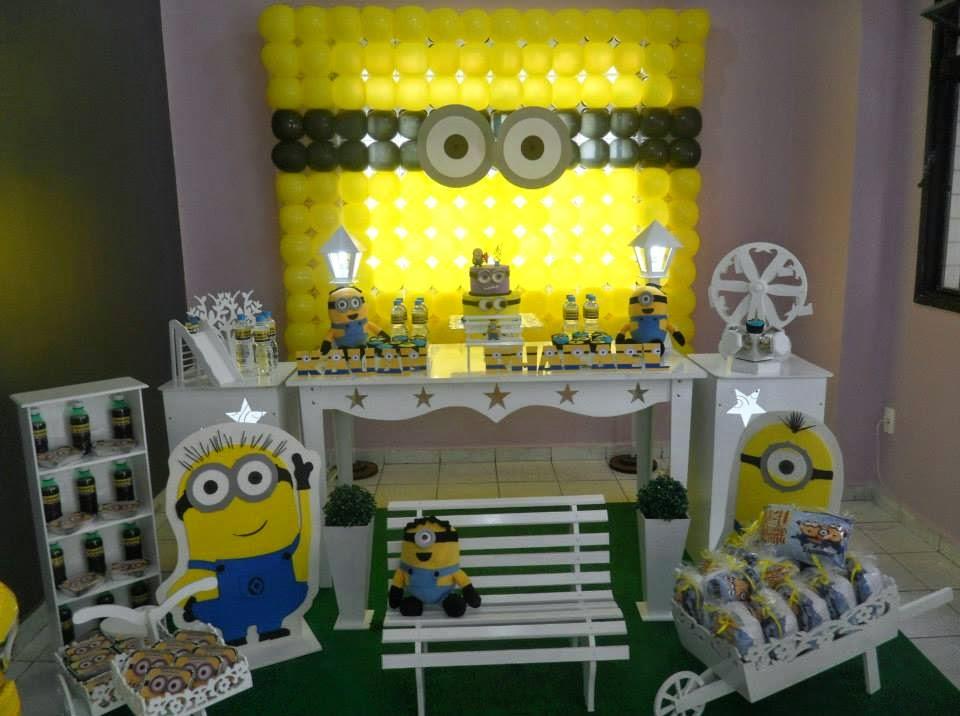 decoracao festa minions : decoracao festa minions:Mania de Festa: Festa Minions