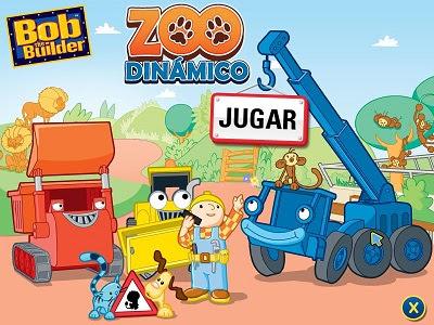 BOB THE BUILDER – CAN-DO ZOO español traducido INFANTIL