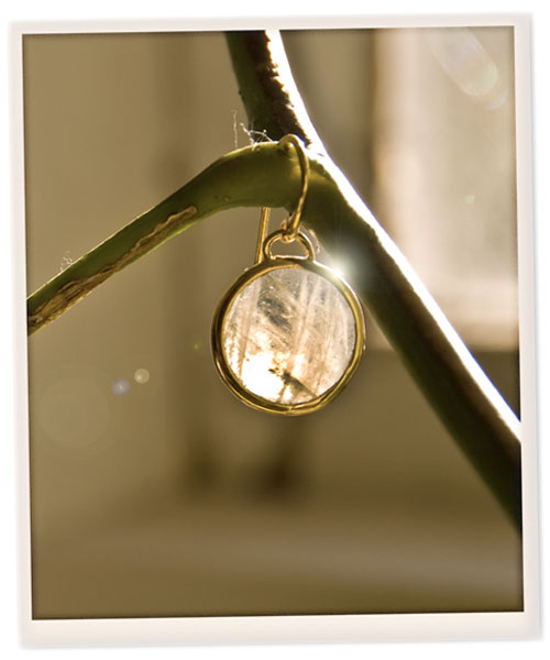 Psynopsis Monica Vinader Moonstone Earrings