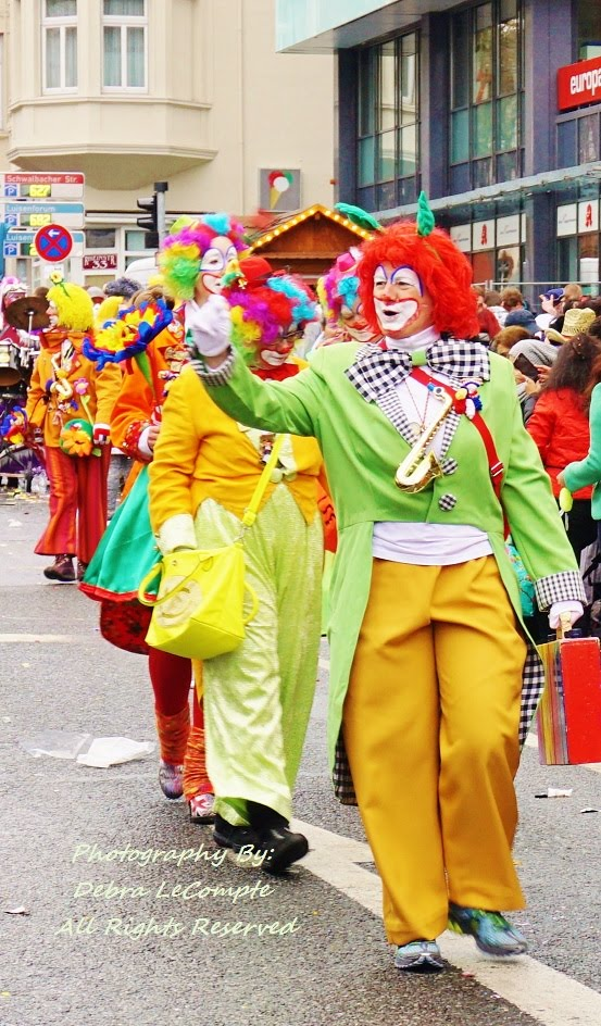 The Clowns of Carnival
