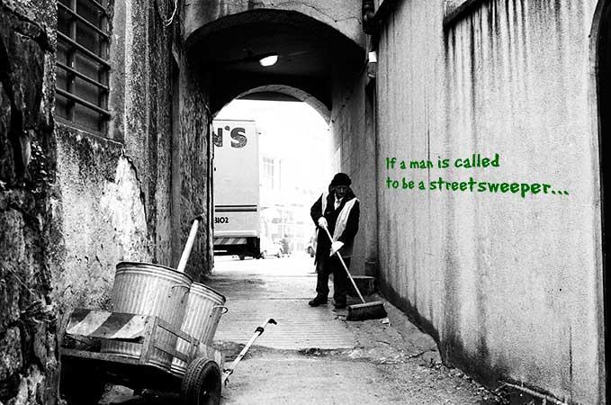 Irish streetsweeper