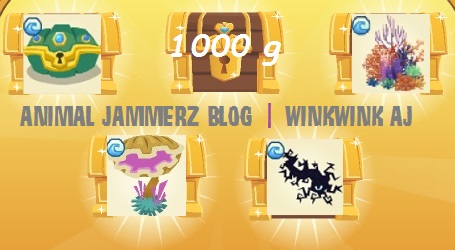 In too deep animal jam prizes for bubble