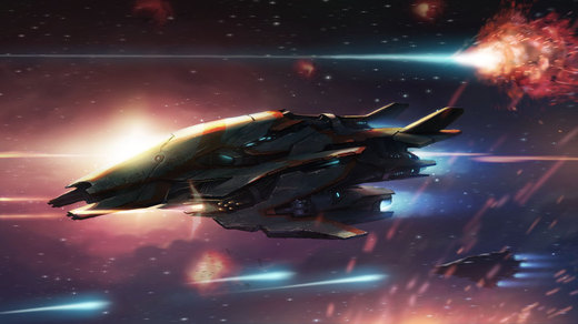 Alien Space Fighter por Kuren