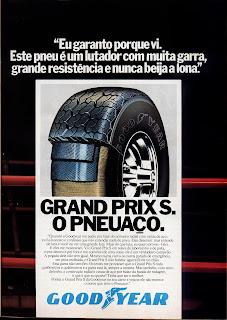 propaganda Pneus Good Year - 1979. 70s ad good year