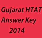 Gujarat HTAT Provisional Answer Key 2014  | Solved Question Paper, SET A, SET B, SET C and SET D.