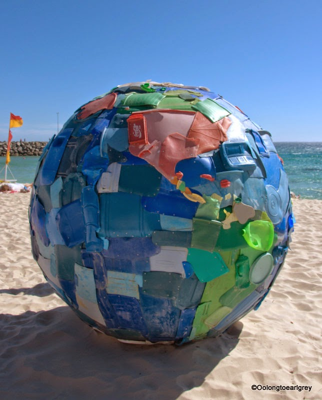 Sculpture by the sea, Cottesloe 2014, plastic world