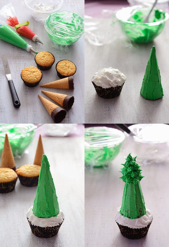 Qu cosa tan dulce cupcake rbol de navidad - Arbol navidad barato ...