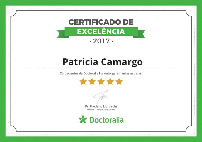 Certificado de Excelência Doctoralia 2017