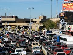 Tráfico en Garitas