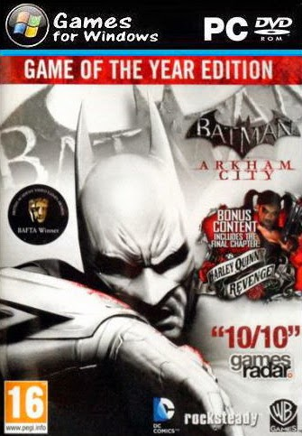 PC Game Batman Arkham City Game of the Year Edition Full Version