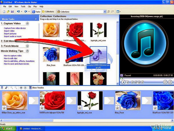 import iTunes music, videos to Windows Movie Maker