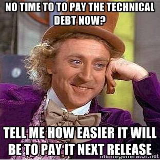 Paying for Technical Debt