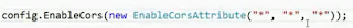 ASP.NET WEB API 2 - CORS