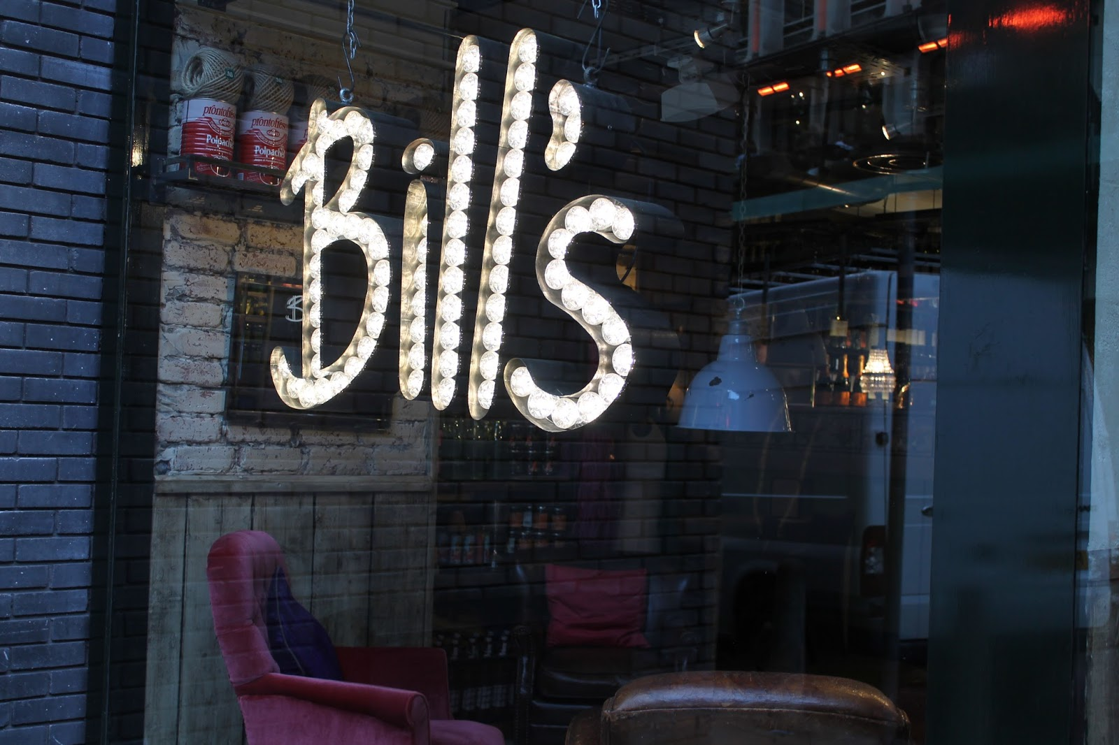 Bill's Restaurant in Manchester (Review)