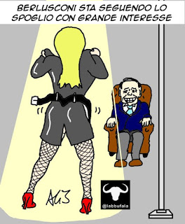 Berlusconi, Liguria, elezioni regionali, spoglio, vignetta , satira