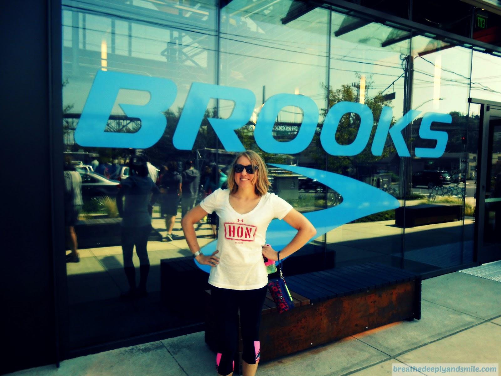 Nuun Hood to Coast Brooks Running HQ Tour