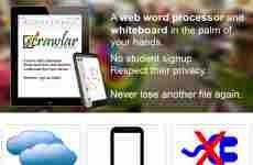 Scrawlar: procesador de texto y pizarra colaborativa online para profesores y estudiantes