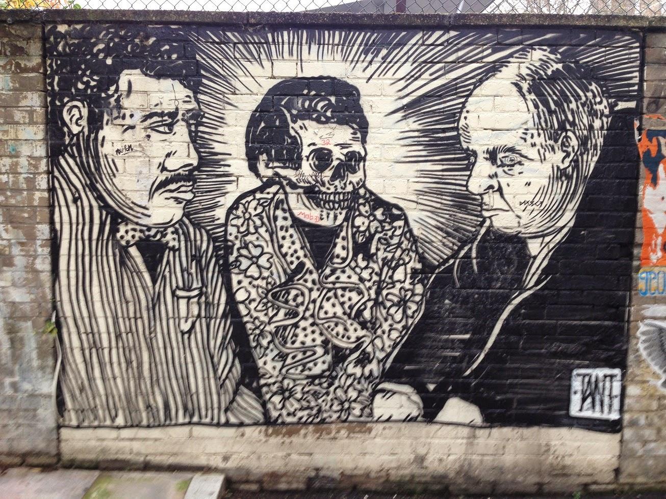 Street Art, Shoreditch, London N1
