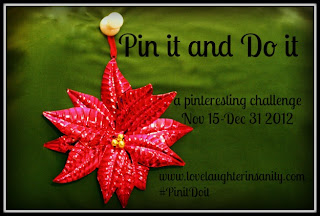 Holiday Pin It and Do It Challenge