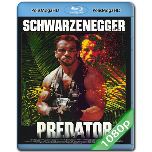 Depredador (1987) 1080P HD MKV ESPAÑOL LATINO