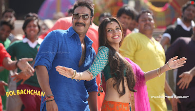 Ajay Devgn, Asin Hot HD Wallpaper Bol Bachchan Bollywood Movie