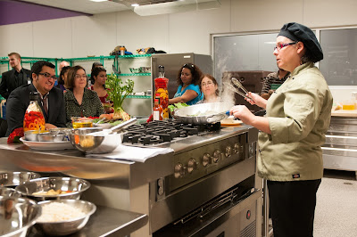 image of cooking demo at RSC Thomas.