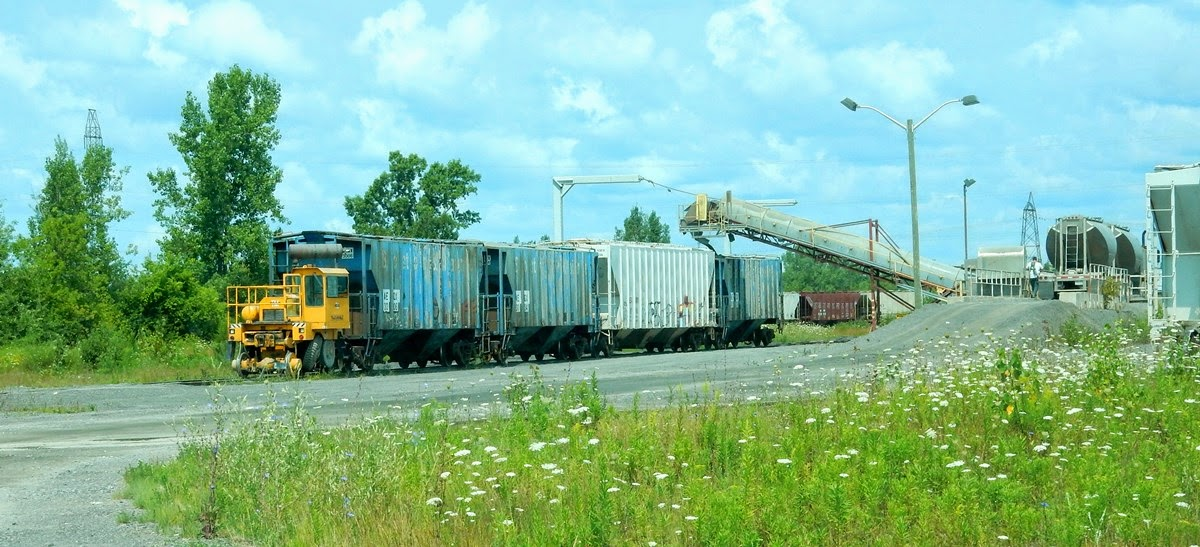Trackside Treasure Iko Transload At Belleville August 2014