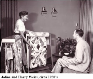 Joline Weiss, Harry Weiss, 1946, Wesco Fabrics