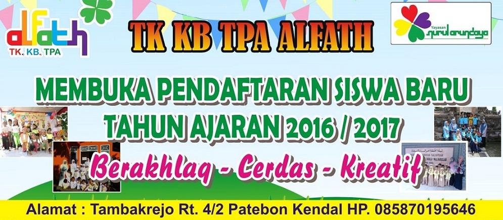 TK KB TPA ALFATH PATEBON KENDAL