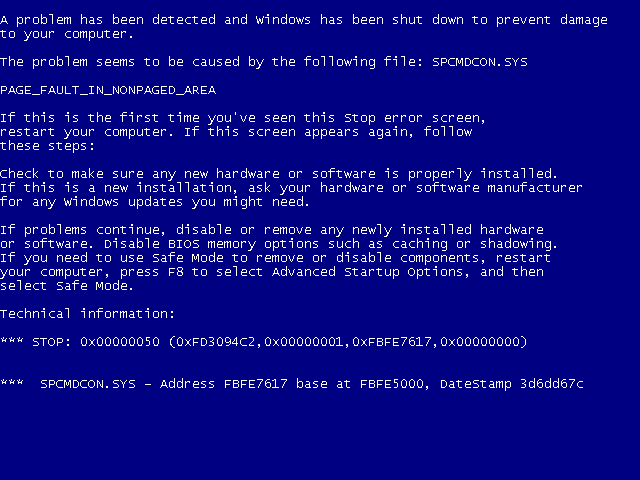 Aplikasi Jahil Blue Screen of Death - BSOD Apk