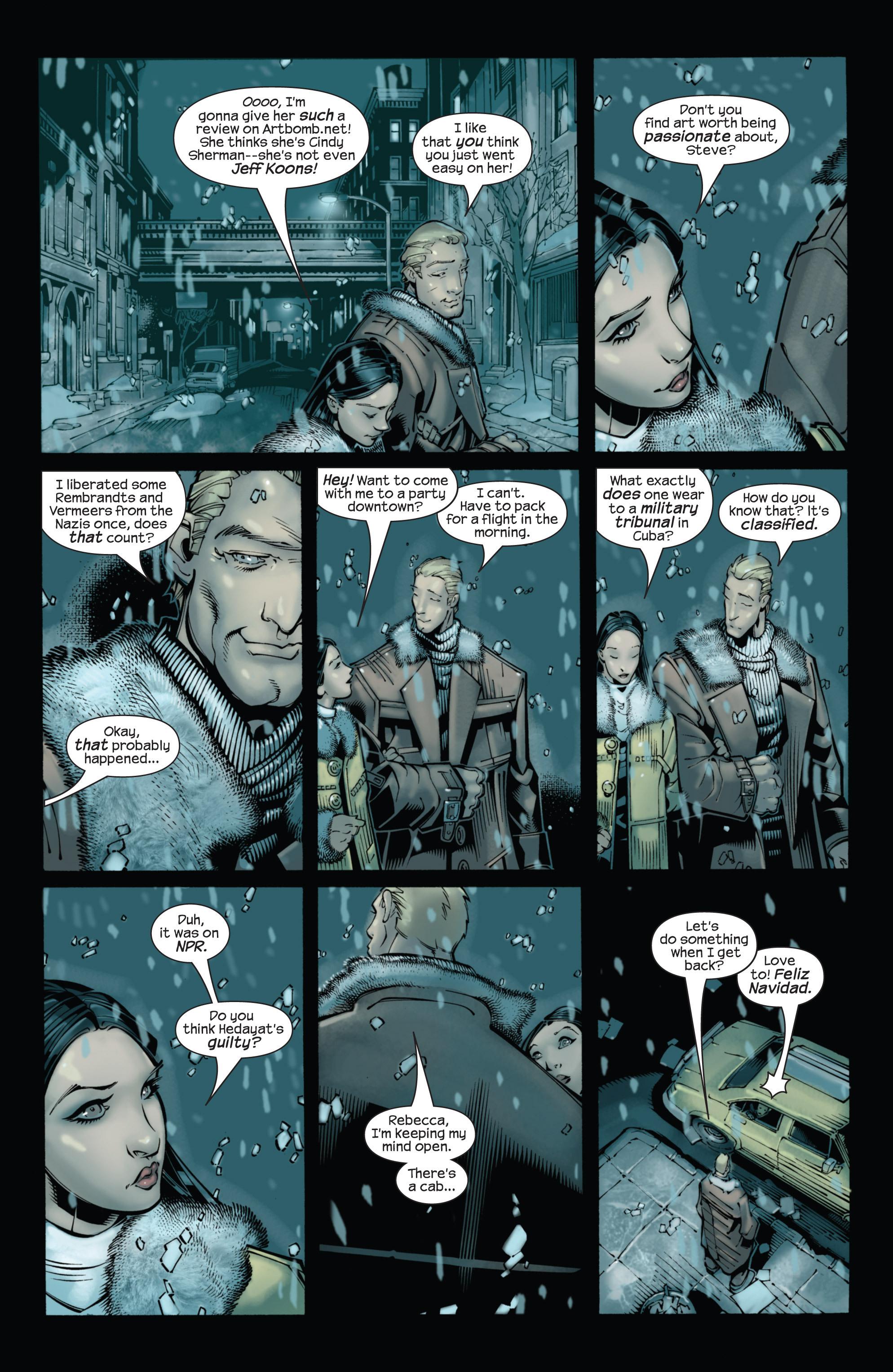 Captain America (2002) Issue #22 #23 - English 9