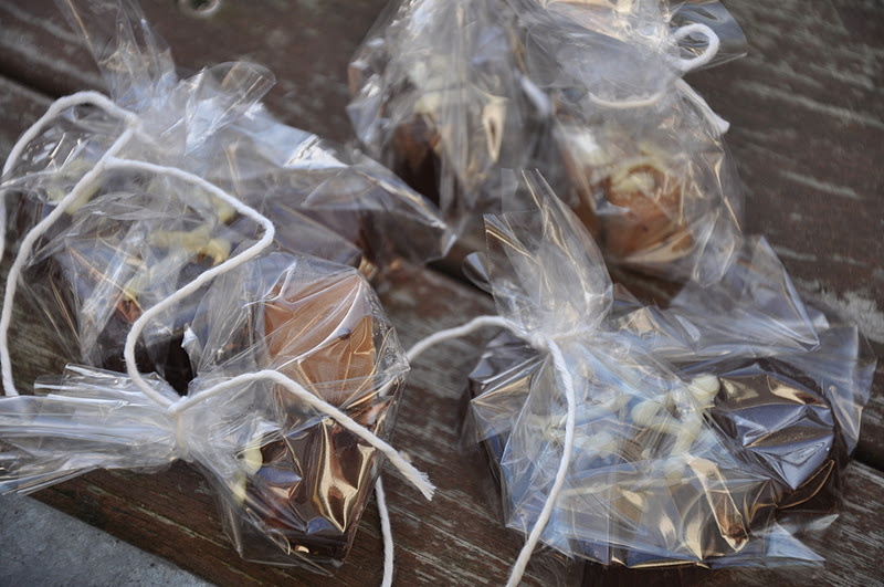 fyldt chokolade med nougat