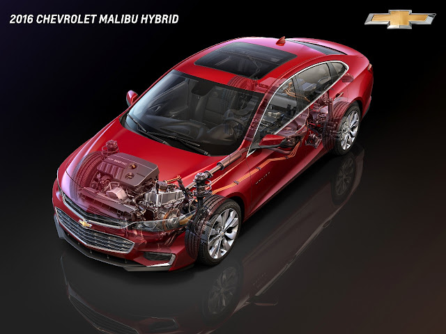 The All-New Chevrolet Malibu Hybrid LT
