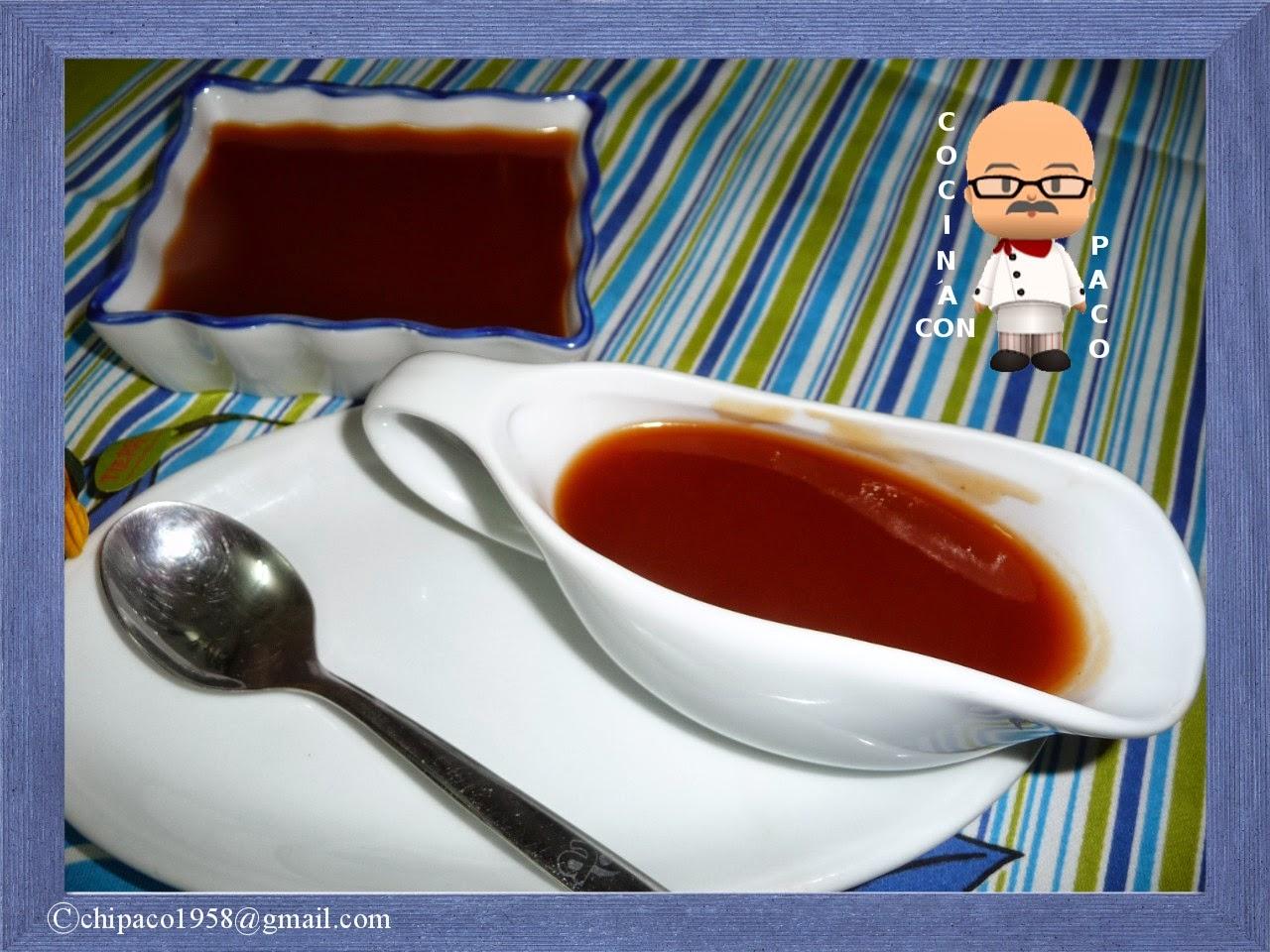 Cocina con paco salsa agridulce - Cocina con paco ...