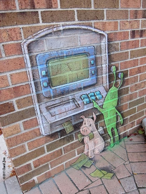 11-Sluggos-ATM-Artist-David-Zinn-Chalk-Street-Art-www-designstack-co