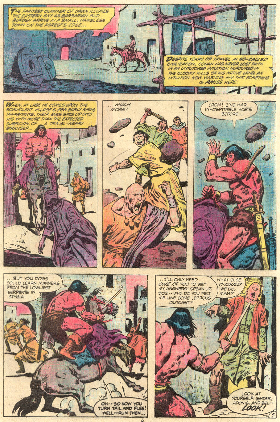 Conan the Barbarian (1970) Issue #118 #130 - English 6